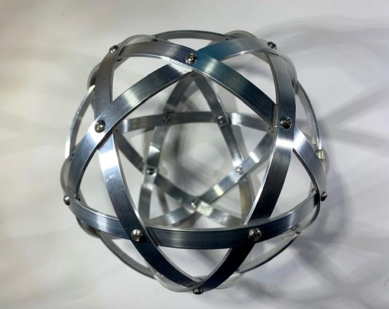 pentasfera-16-cm-alluminio-naturale-profilo-1-cm