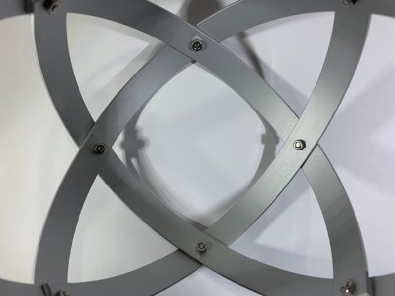 genesa-25-cm-alluminio-satinato-argento-profilo-1-5-cm