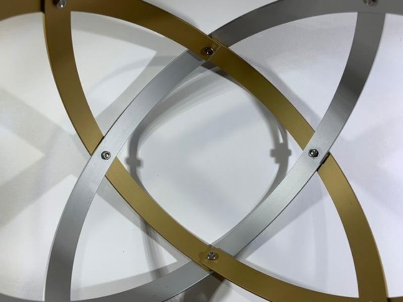 genesa-21-alluminio-satinato-argento-e-oro-profilo-1-5-cm