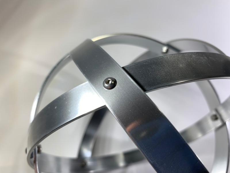 genesa-21-cm-alluminio-lucido-brillante-argento-profilo-1-5-cm
