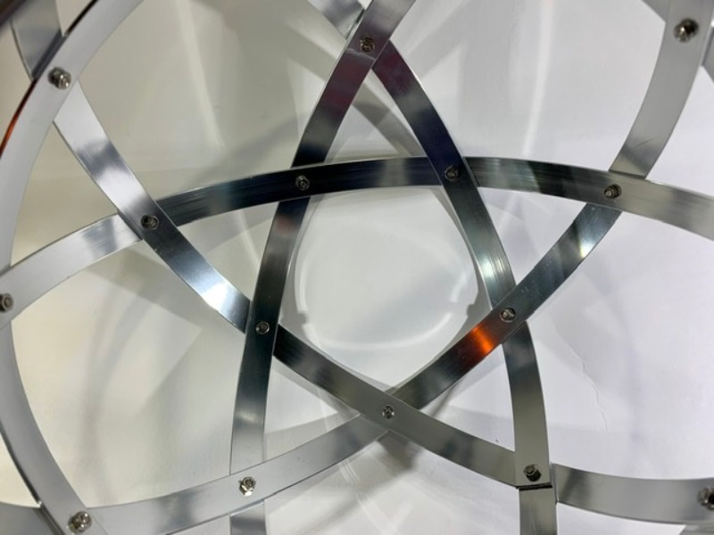 pentasfera-21-cm-alluminio-lucido-brillante-argento-profilo-1-5-cm