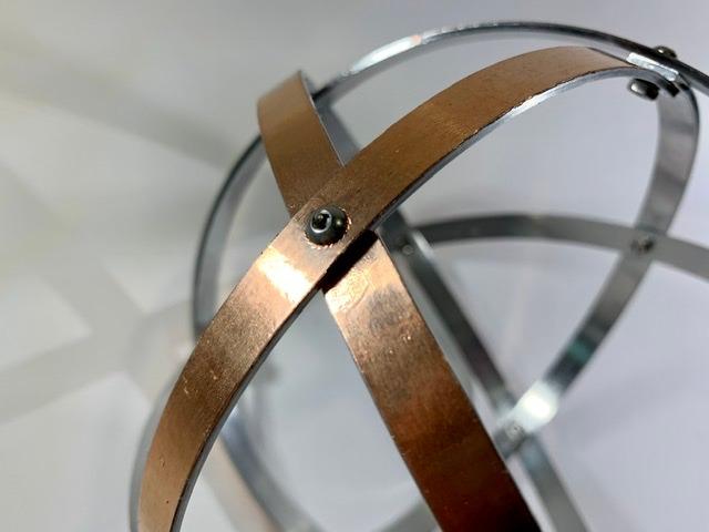 genesa-16-cm-alluminio-naturale-e-lamina-di-rame