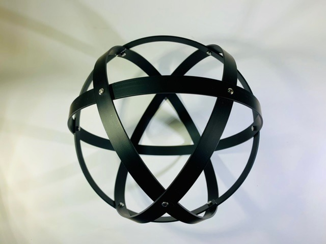 genesa-21-cm-alluminio-satinato-nero-profilo-1-5-cm