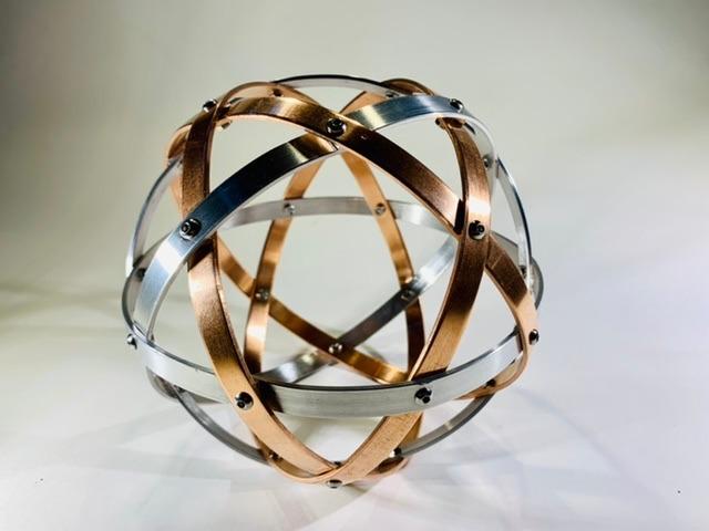 pentasfera-16-cm-alluminio-naturale-e-rame-profilo-1-cm